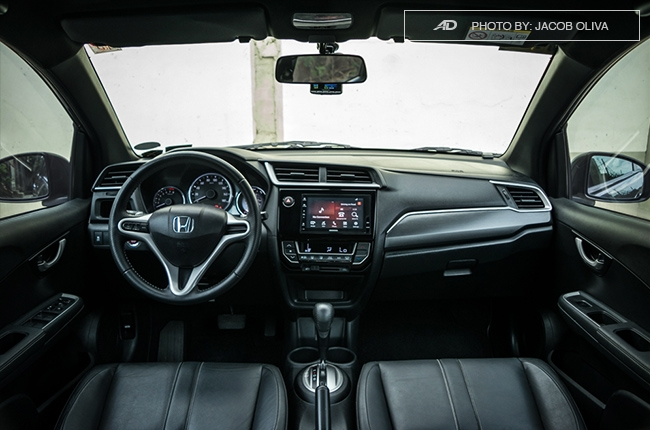 2017 Honda BR-V Modulo dashboard