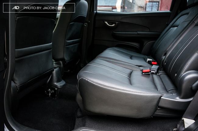 2017 Honda BR-V Modulo rear seats