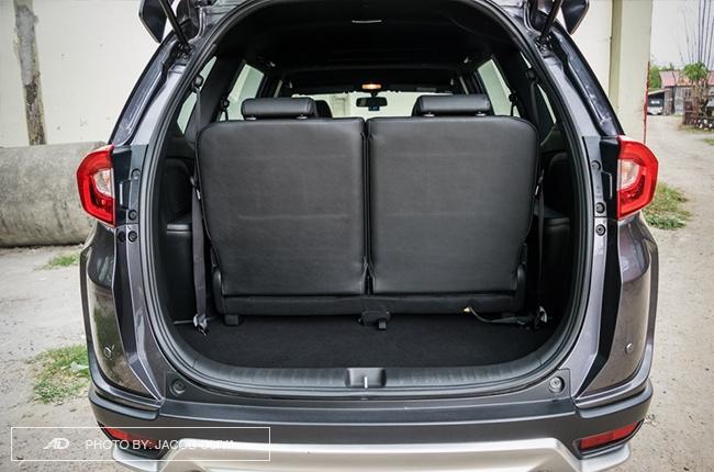 2017 Honda BR-V Modulo trunk