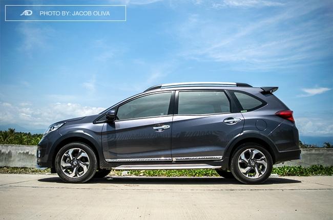 2017 Honda BR-V Modulo profile