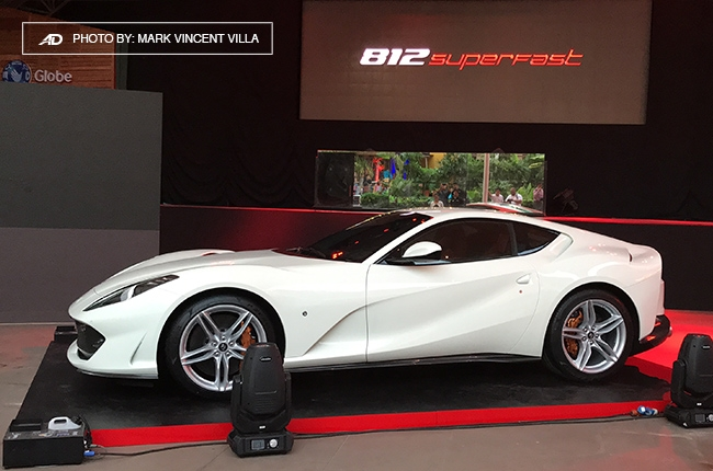 Ferrari 812 Superfast Philippines front quarter
