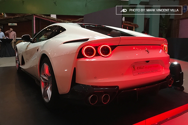 Ferrari 812 Superfast Philippines rear quarter