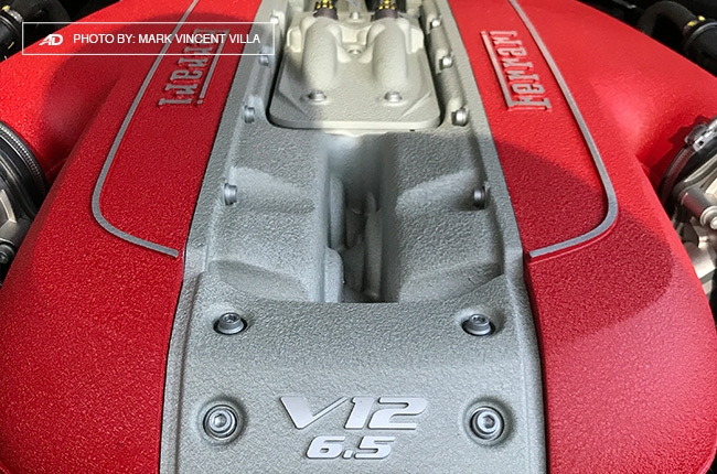 Ferrari 812 Superfast Philippines engine