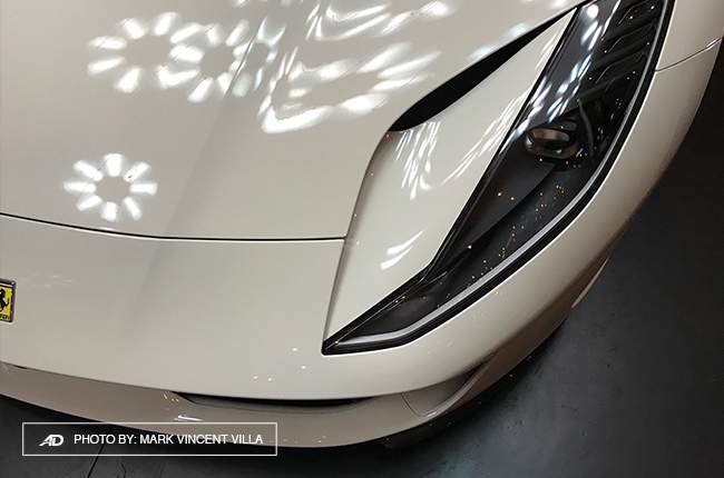 Ferrari 812 Superfast Philippines headlights