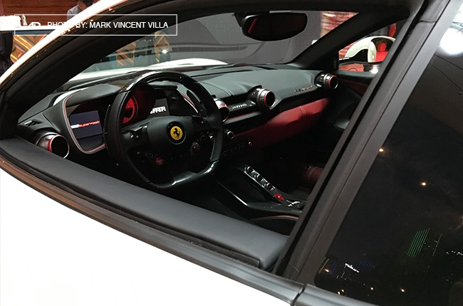 Ferrari 812 Superfast Philippines interior