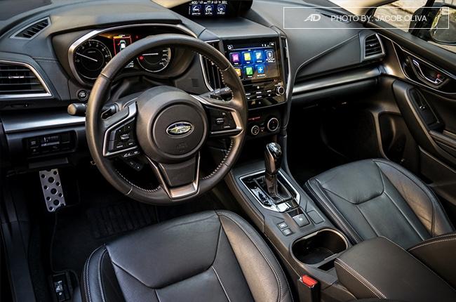 2018 Subaru Impreza cabin