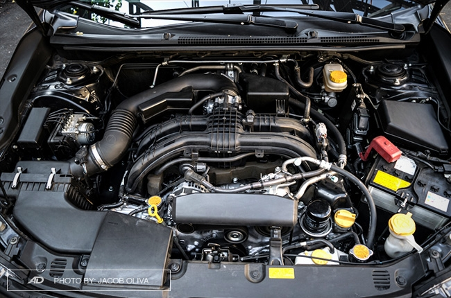 2018 Subaru Impreza engine