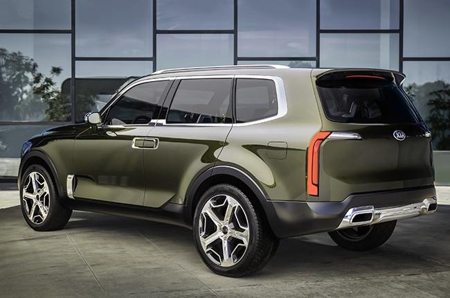 Kia Telluride concept rear