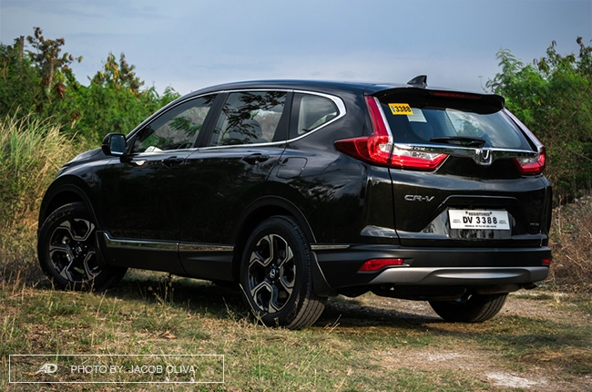 2018 Honda CR-V Gasoline rear quarter