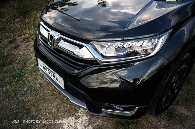 2018 Honda CR-V Gasoline fascia