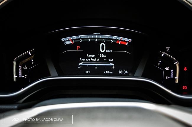 2018 Honda CR-V Gasoline instrument cluster