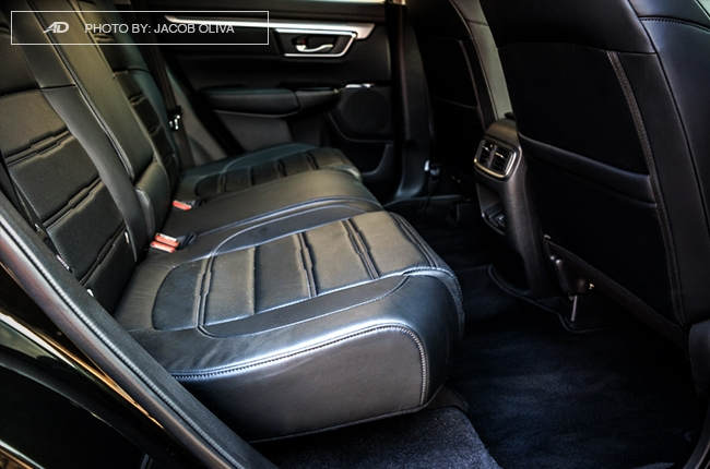 2018 Honda CR-V Gasoline rear seats