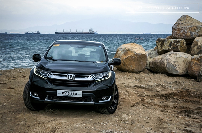 2018 Honda CR-V Gasoline beauty shot