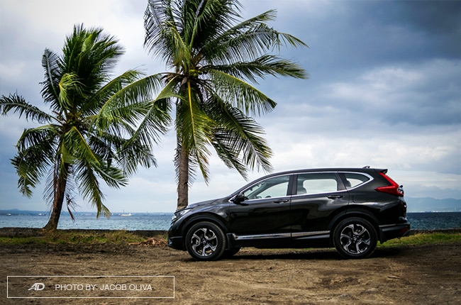 2018 Honda CR-V Gasoline side shot
