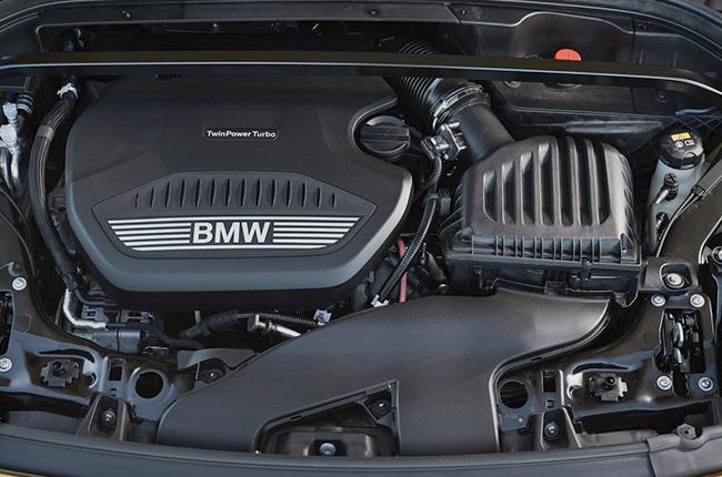 BMW X2 2018 diesel engine