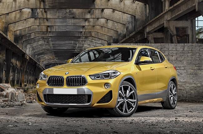 BMW X2 2018 exterior