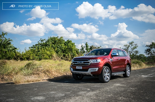 2018 ford everest 3.2 titanium+ road shot