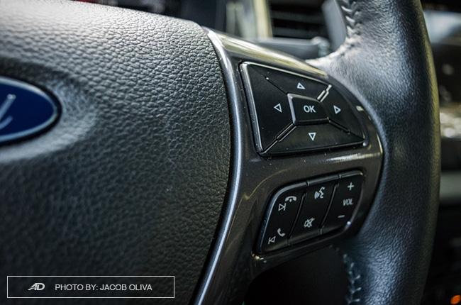 2018 ford everest 3.2 titanium+ audio controls