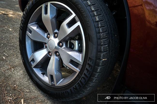 2018 ford everest 3.2 titanium+ wheels