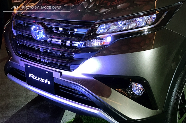 2018 Toyota Rush fascia