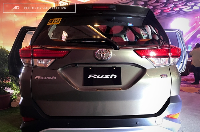 2018 Toyota Rush rear