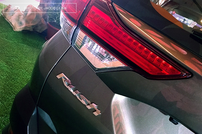 2018 Toyota Rush badge