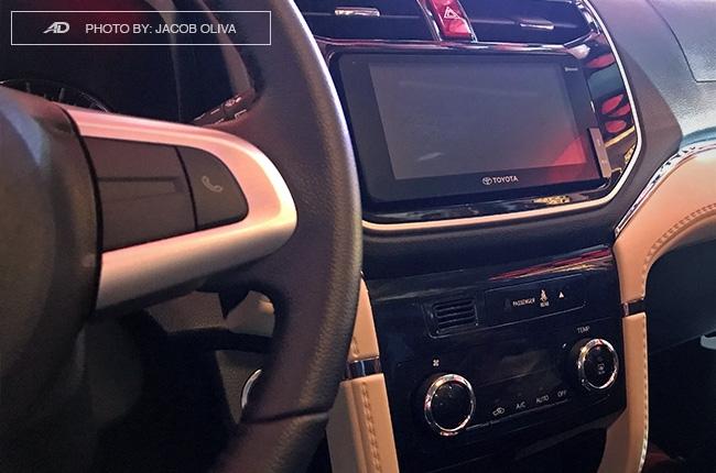 2018 Toyota Rush stereo