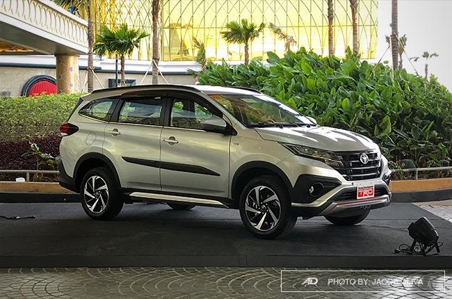 2018 Toyota Rush TRD Philippines front quarter