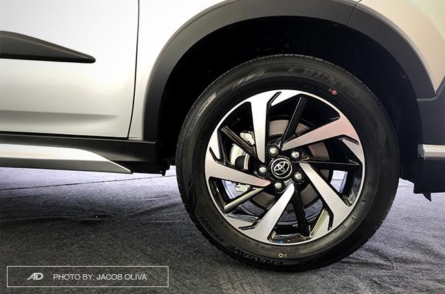 2018 Toyota Rush TRD Philippines wheels