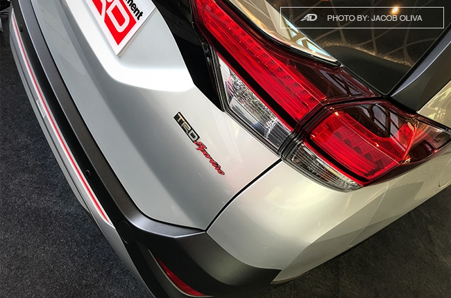 2018 Toyota Rush TRD Philippines taillights