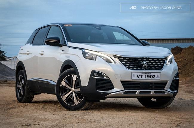 2018 Peugeot 3008 Diesel front quarter