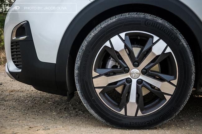 2018 Peugeot 3008 Diesel wheels