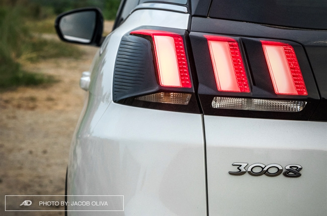2018 Peugeot 3008 Diesel taillights