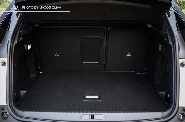 2018 Peugeot 3008 Diesel trunk