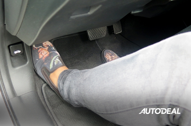 cruise control guide pedal