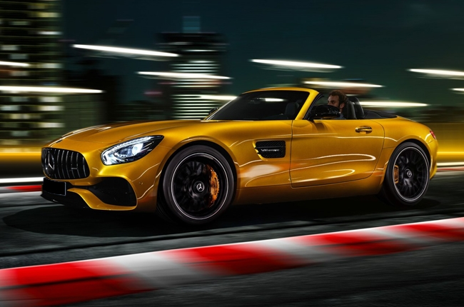 2019 Mercedes-AMG GT-S Roadster