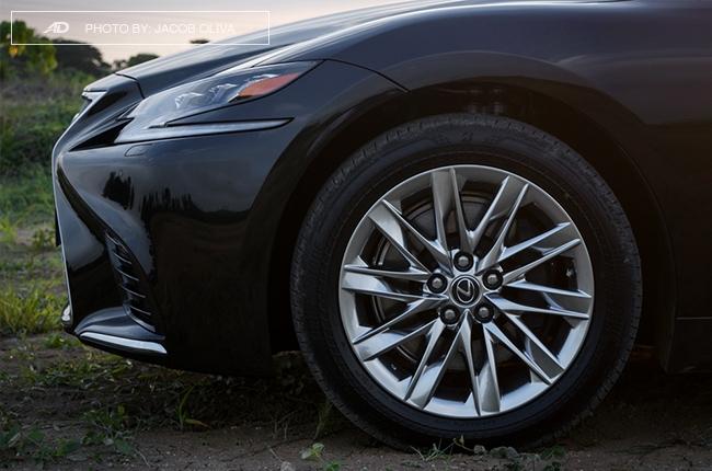 2018 lexus ls 500 wheels