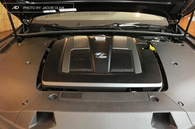 2018 lexus ls 500 v6 engine