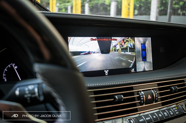 2018 lexus ls 500 around view monitor