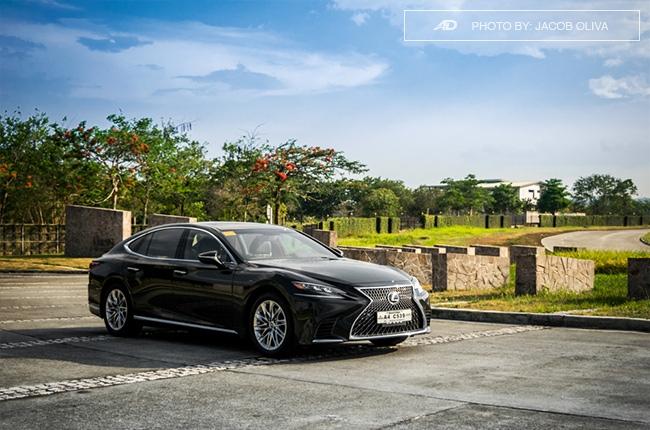 2018 lexus ls 500 front beauty