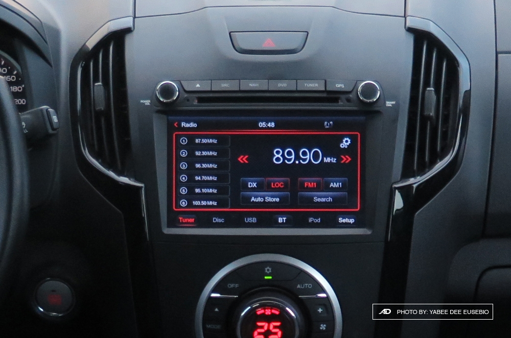 2018 Isuzu D-Max 3.0 LS AT 4x2 Blue Power Touchscreen