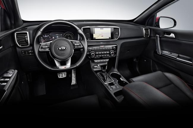 2019 Kia Sportage Diesel Hybrid Interior