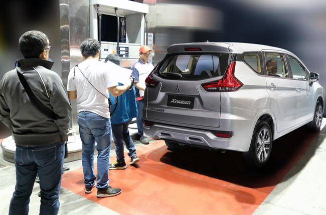 2018 Mitsubishi Xpander Fuel Economy Run