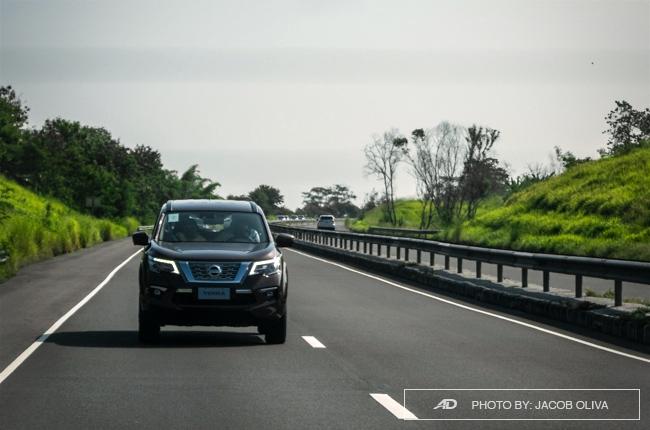 2018 Nissan Terra Philippines highway