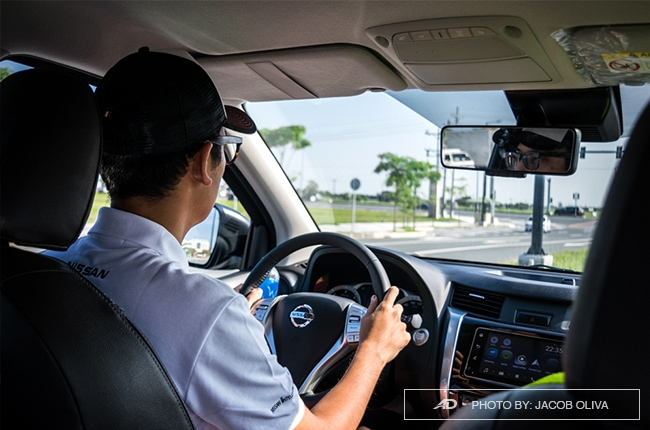 2018 Nissan Terra Philippines driver seat