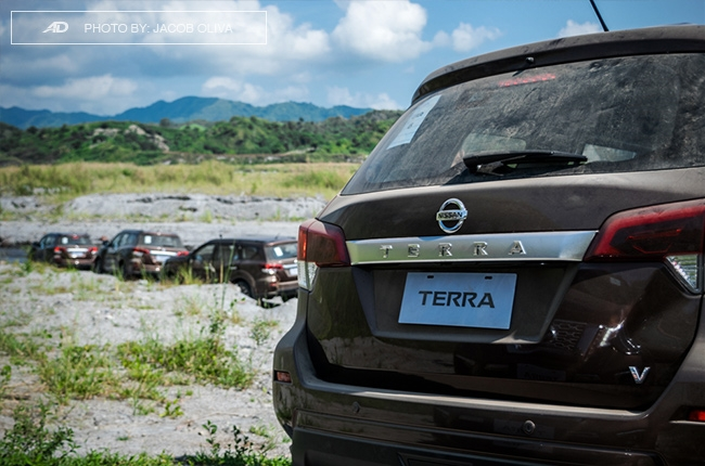 2018 Nissan Terra Philippines off-road