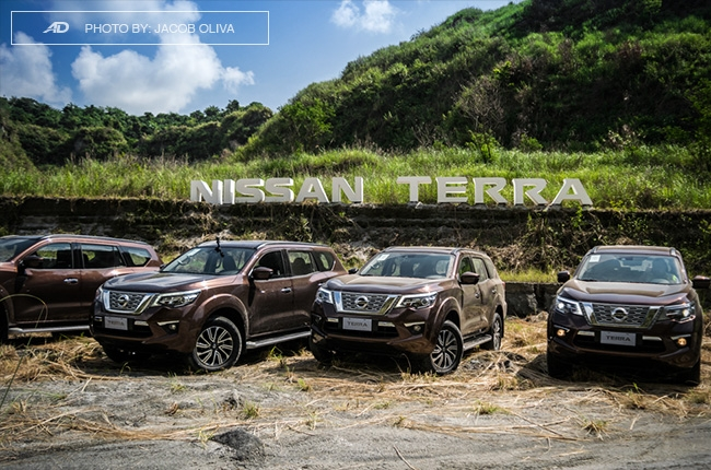 2018 Nissan Terra Philippines lineup