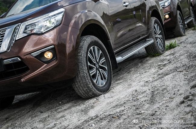 2018 Nissan Terra Philippines wheels