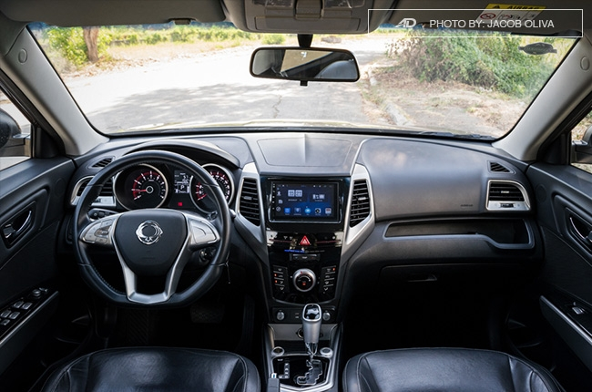 ssangyong tivoli exg review interior