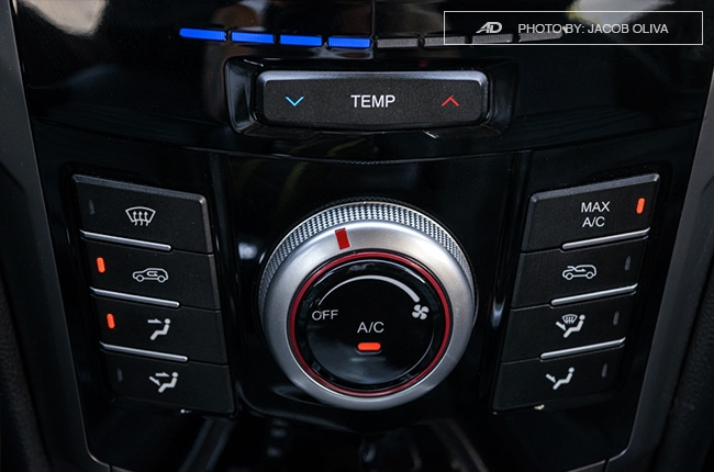 ssangyong tivoli exg review air conditioning